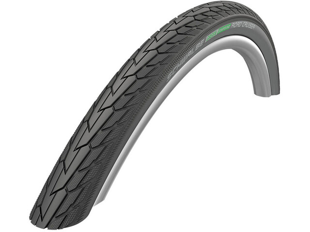 "SCHWALBE Road Cruiser Cykeldæk 12"" K-Guard Active sort"